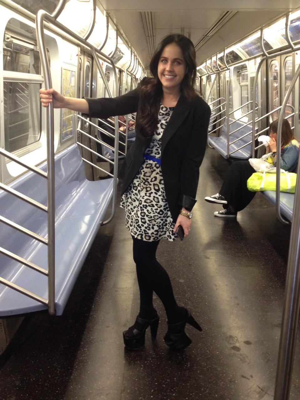 Tranny platform heels