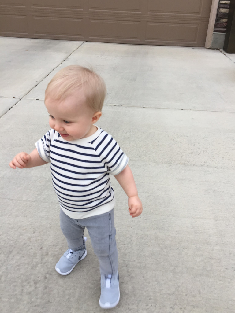 Sloan walking