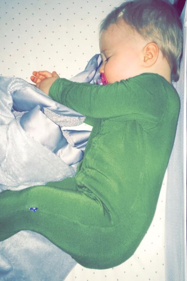 Sloan sleeping