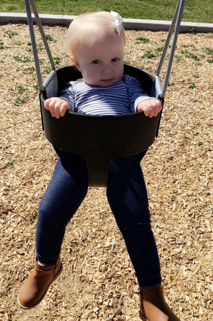 sloan on the swings