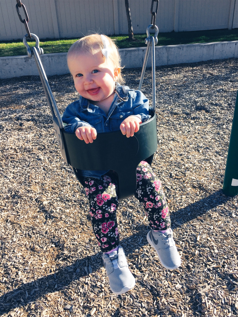 swinging again